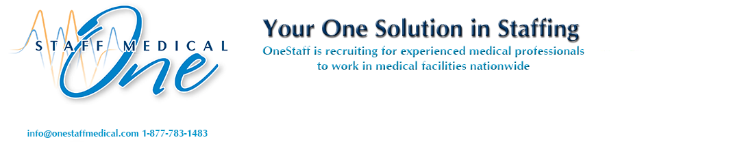 Travel Nursing Jobs | One Staff Medical